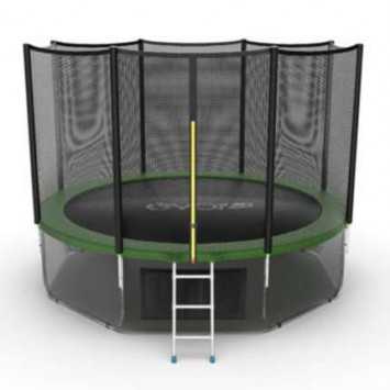 Батут EVO JUMP External 12ft Green + Lower net