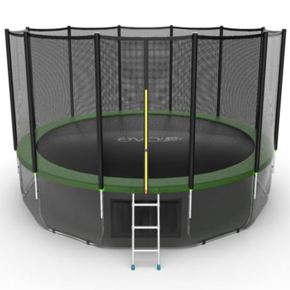 Батут EVO JUMP External 16ft Green + Lower net